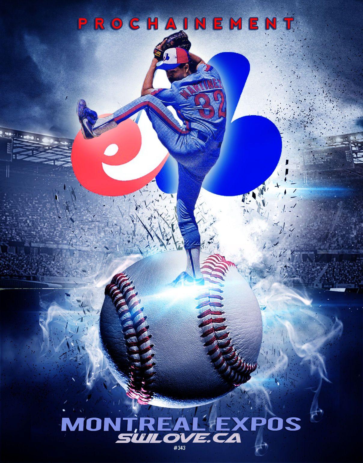 Montreal Expos Expos montreal, Expos, Mlb baseball teams