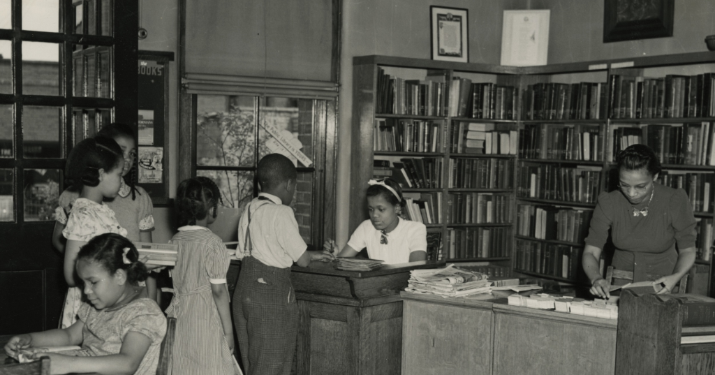 Black branches of the Public Library of Cincinnati and