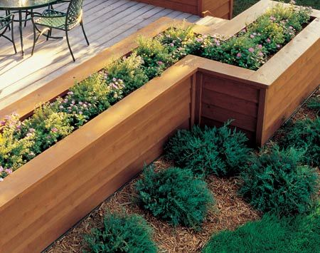 How to Build the Deck of Your Dreams | Planters, Decking