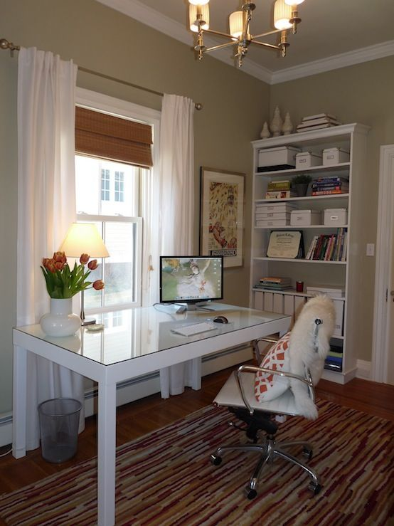 suzie hazardous design chic office design with sage on best wall color for home office id=93039