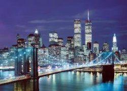 Tomax Brooklyn Bridge, USA 1000 Piece Mini Jigsaw Puzzle