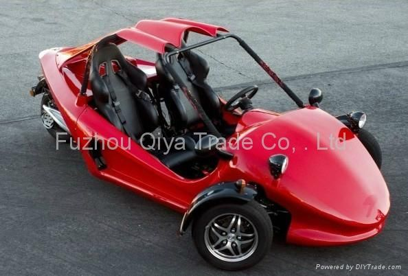 Three Wheel Motorcycle Scooter With Roof Reverse Trike Trike Used Motorcycles