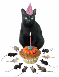 Happy Birthday Lou Ann Cat Birthday Happy Birthday Black
