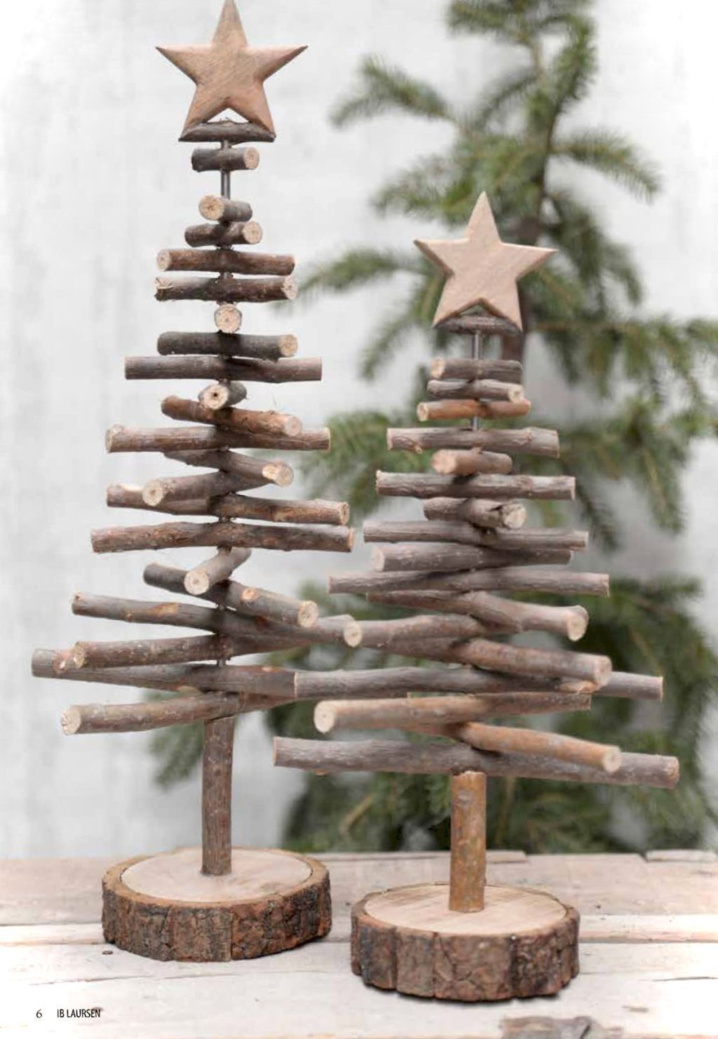 0031 rustic christmas decorations ideas | jodi | Pinterest ...
