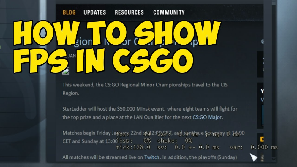 How To Show Fps In Cs Go Csgo Gamers Fps Enewsgg Fps Intense Games Blog Updates