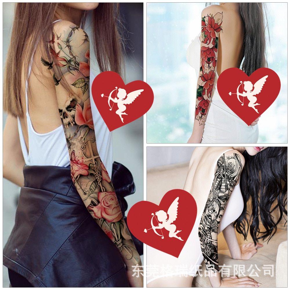 Full arm tattoo sticker 2019 new waterproof tattoo sticker