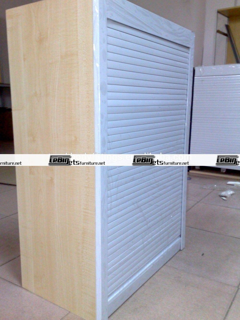 Roller Shutter Kitchen Cabinet Doors | Rolling Door | Pinterest ...