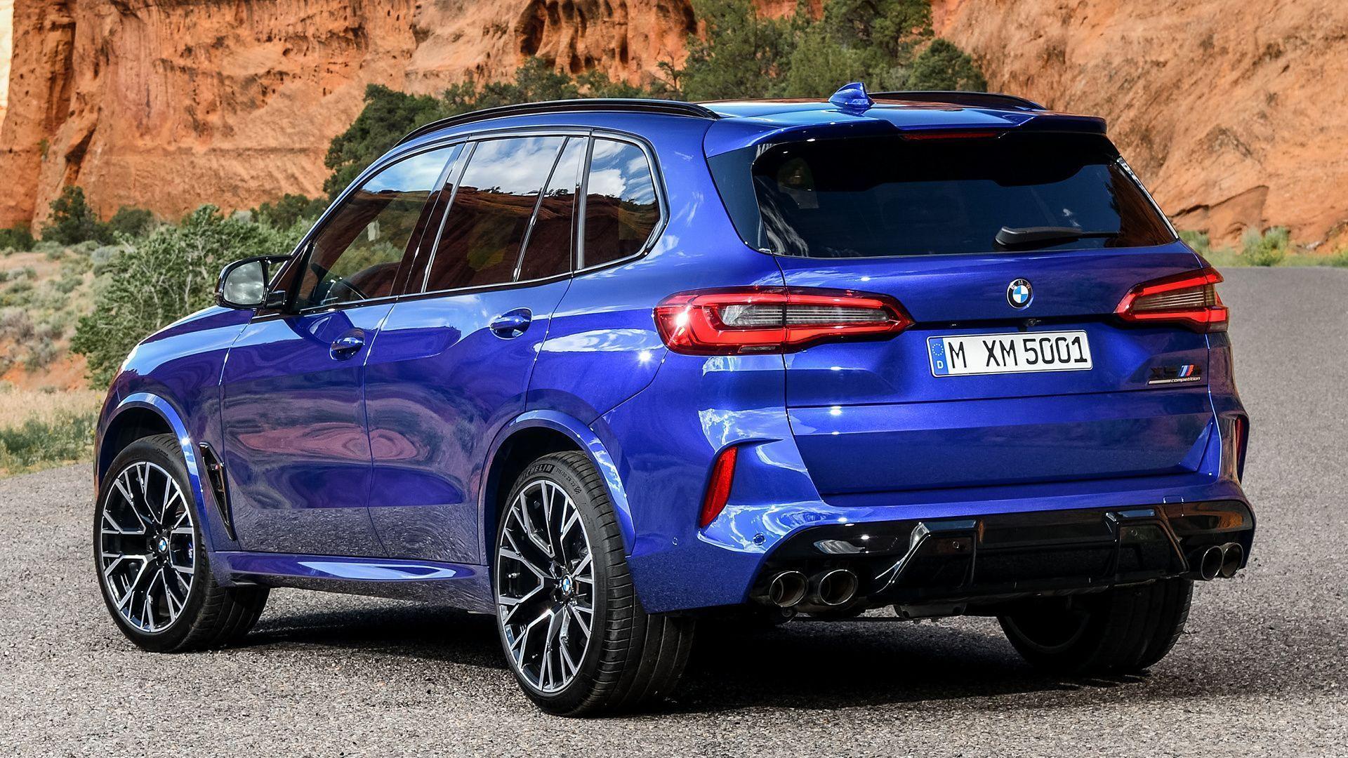 Vehicles Bmw X5 M Competition Bmw Mid Size Car Suv Luxury Car Blue Car Car Hd Wa En 2020 Lujos