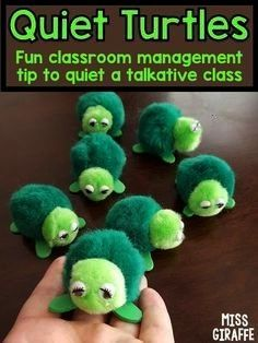 #management #strategies #wonderful #classroom #talkative #strategy #behavior #turtles #noisy #quiet #class #lots #love #help #withQuiet turtles classroom management strategy that kids LOVE! Lots of wonderful behavior management strategies to help with a noisy talkative classQuiet turtles classroom management strategy that kids LOVE! Lots of wonderful behavior management strategies to help with a noisy talkative class  FUZZY CRITTERS: Quiet Critters - only come out of the jar when its...  ... #quietcritters