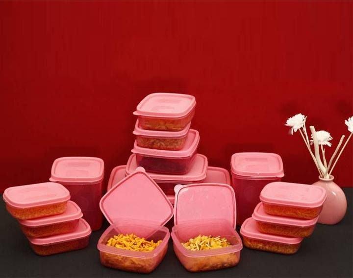 17 Pc Kitchen Grocery Storage Containers couponndeal