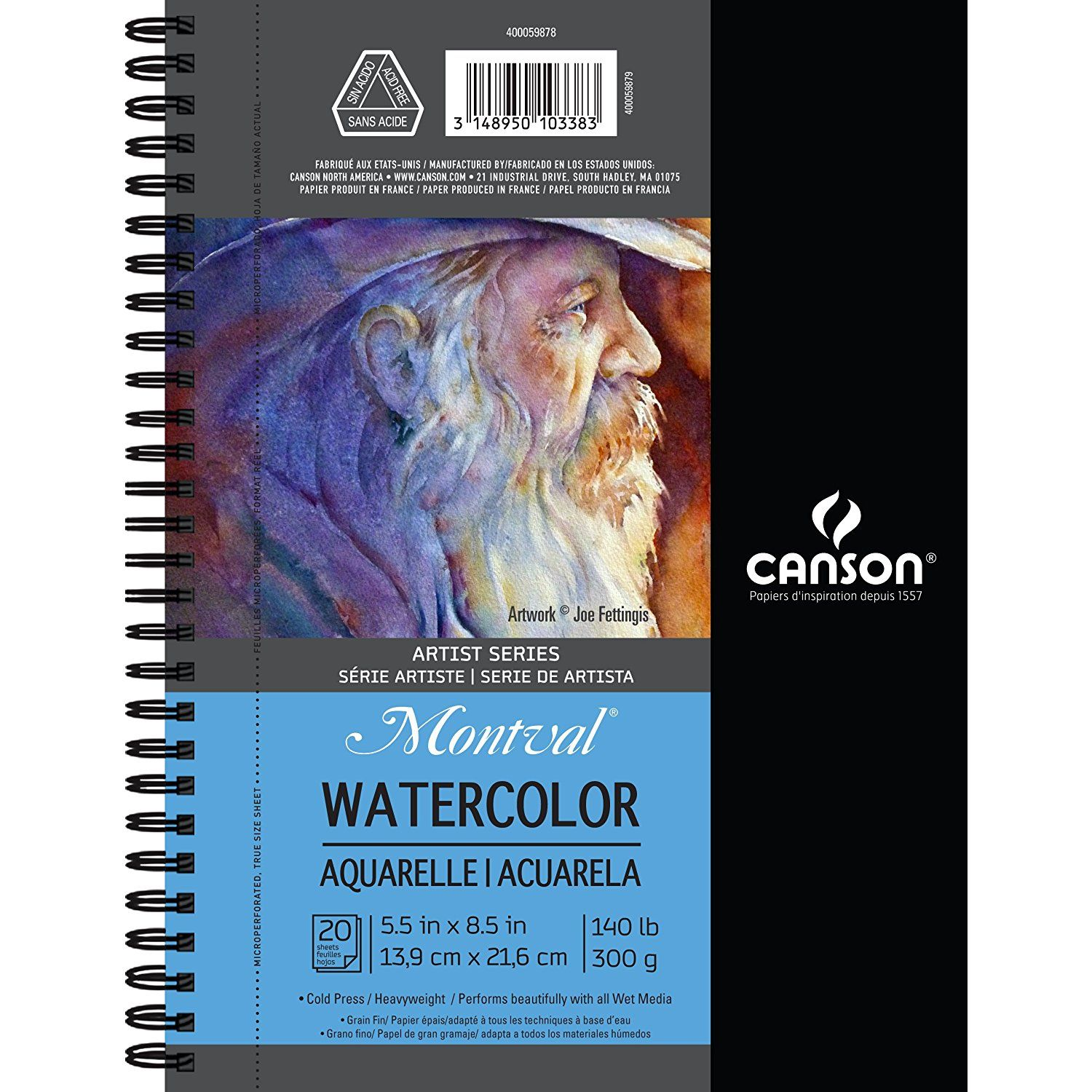 Canson Artist Series Watercolor Pad 5