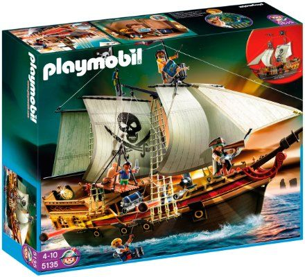 PLAYMOBIL Original Set Pirates Ship Discontinued //Pulled from the shelves