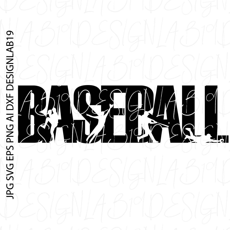 baseball SVG silhouette game sport coach team little