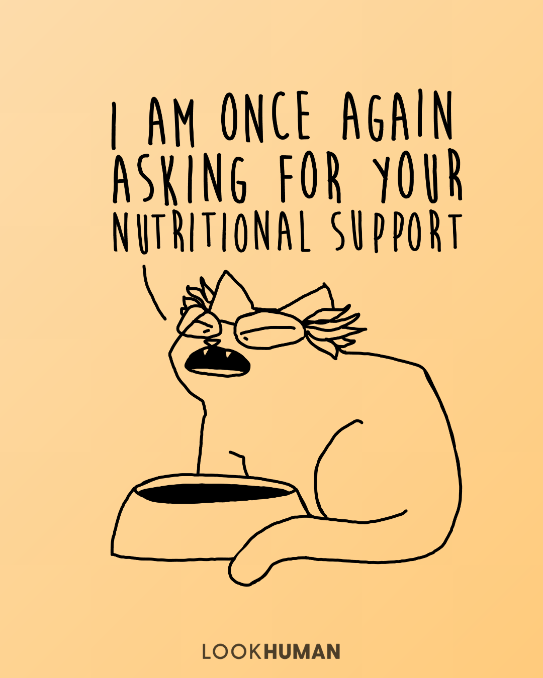 I Am Once Again Asking For Your Nutritional Support Supportive Bernie Sanders Meme Biology Humor