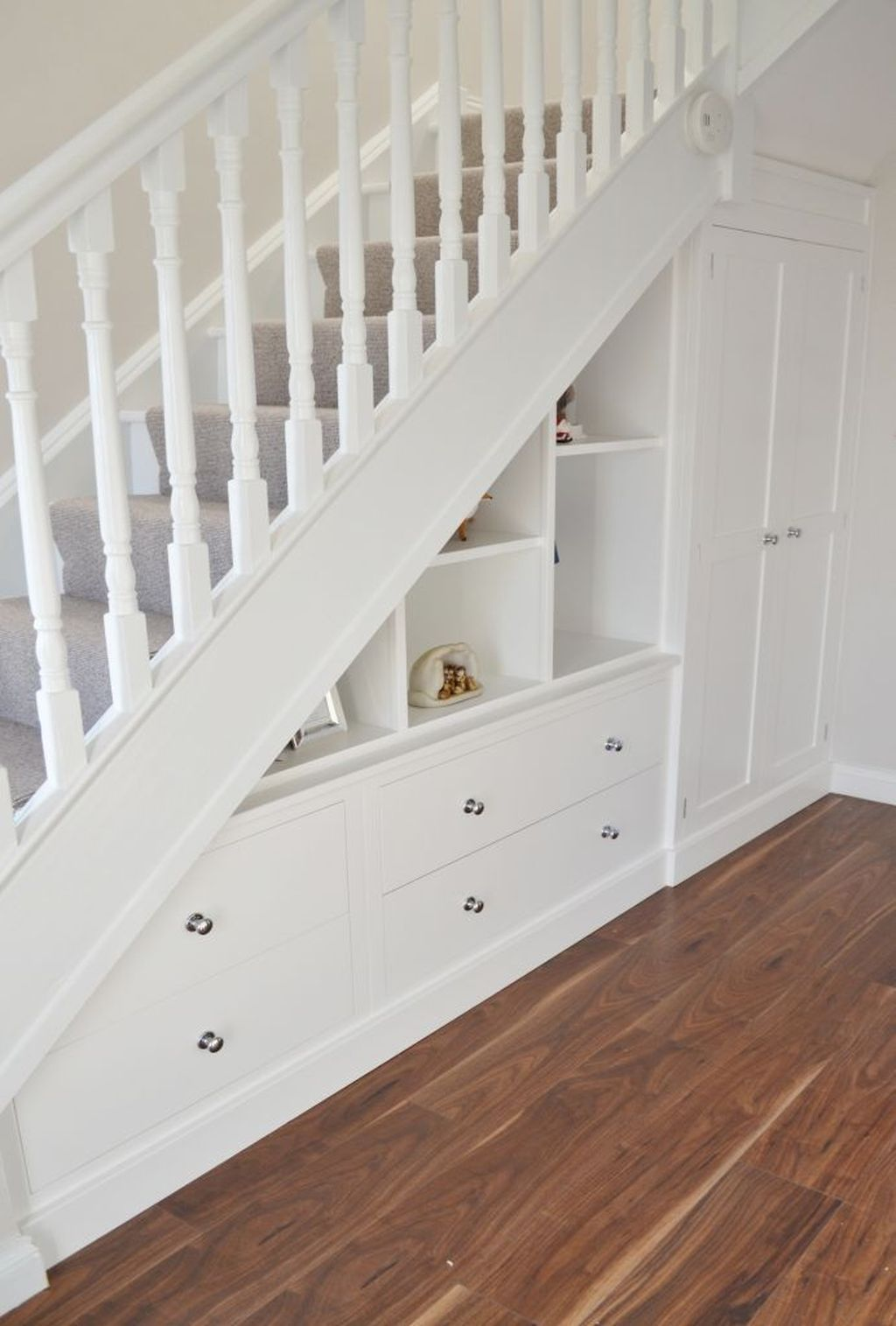 Shoes Under The Stairs Smart Idea You Could Have Shoes Pull Out