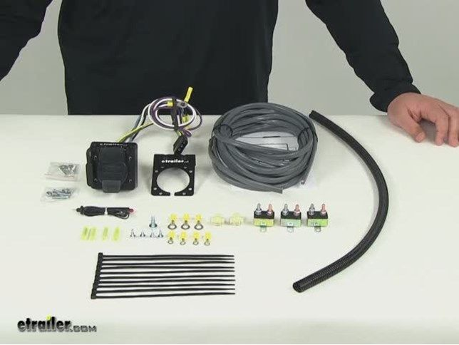Universal Installation Kit For Trailer Brake Controller 7 Way Rv And 4 Way Flat 10 Gauge Wires E Installation Brake Trailer