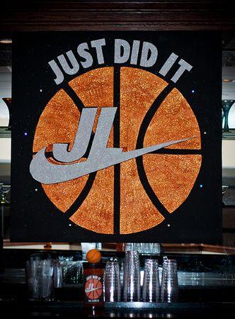 Basketball Bar Mitzvah In 2019 Bar Mitzvah Party Bar