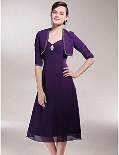 REINA - Kleid für die Brautmutter aus Chiffon mit Bolerojäck... – EUR € 89.99