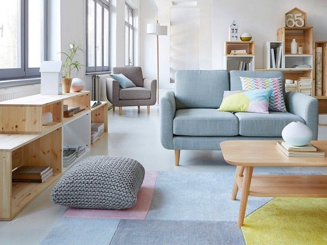 1000 ideas about canap scandinave on pinterest canap convertible design couch and corner sofa - Canape Bleu