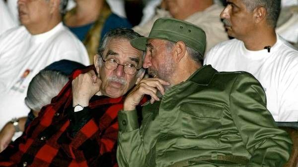 Gabriel García Márquez and Fidel Castro
