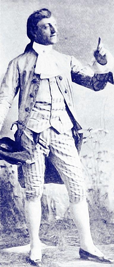 John Drew as Belleville in 'The Country Girl'
