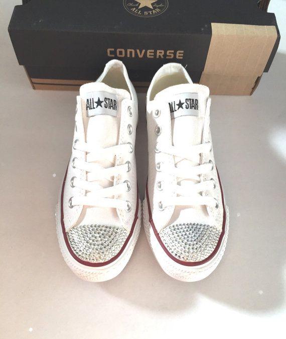 51397afa4c0c Rhinestone Converse Shoes