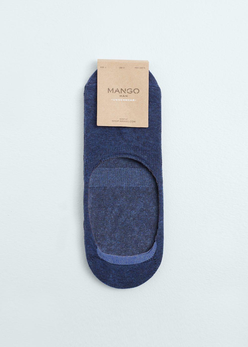 Lote 2 meias invisíveis | MANGO MAN