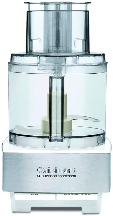 Amazon Com Cuisinart Dfp 14bcwny 14 Cup Food Processor Brushed Stainless Steel White Kitchen Din Food Processor Recipes Brushed Stainless Steel Cuisinart 14 cup cuisinart food processor