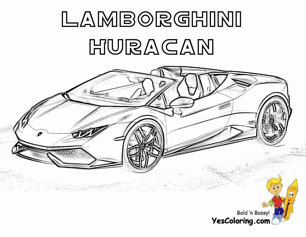 Coloring Transportation Elegant Sports Cars Coloring Pages Unique 20 Beautiful Lamborghini In 2020 Sports Coloring Pages Cars Coloring Pages Lamborghini Huracan