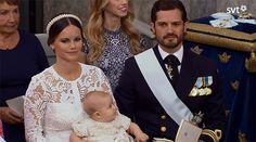 Prince Alexander of Sweden's Baptism
