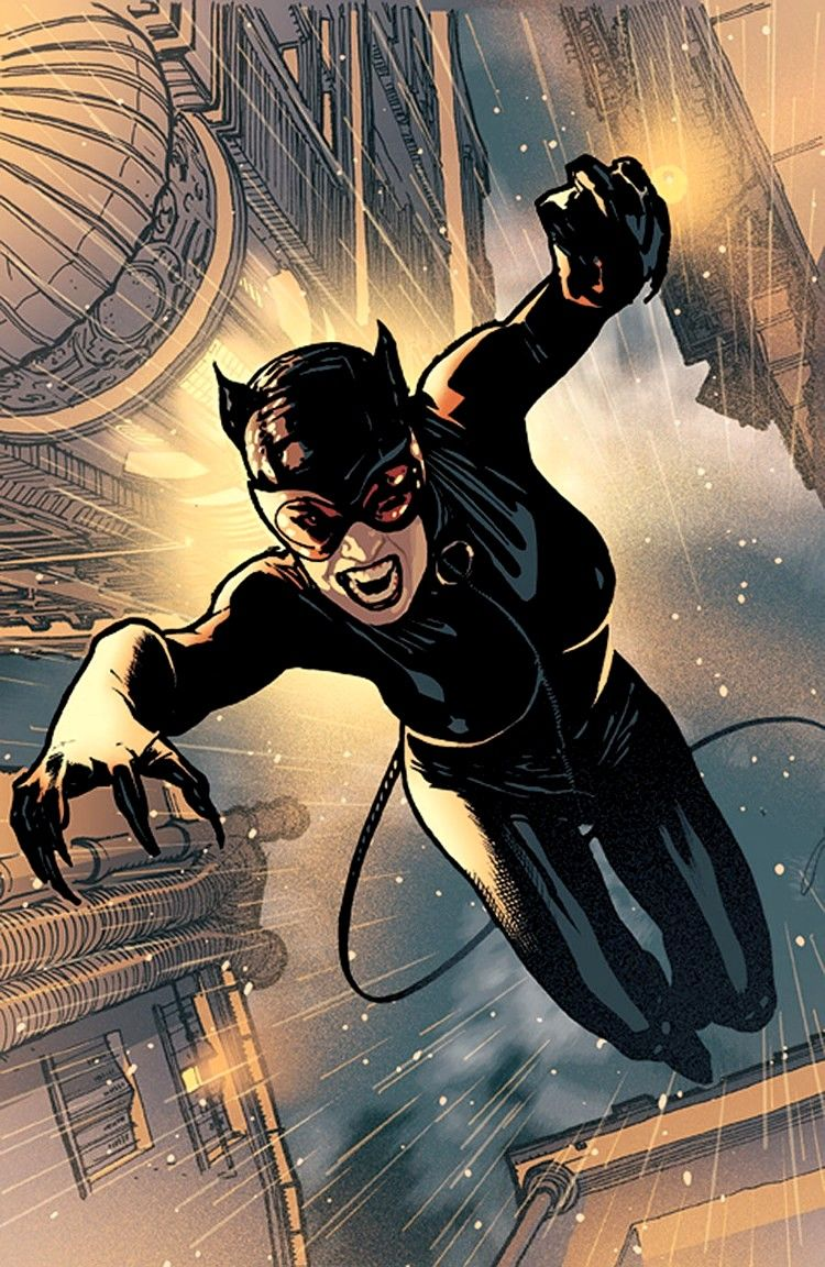 100 Images of Catwoman Cartoon Character Picture