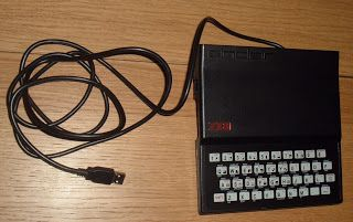 Sinclair ZX81 turned into USB keyboard