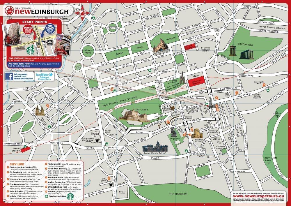 Leith Scotland Map.Edinburgh Leith Scotland Cruise Port Map Printable Travel In