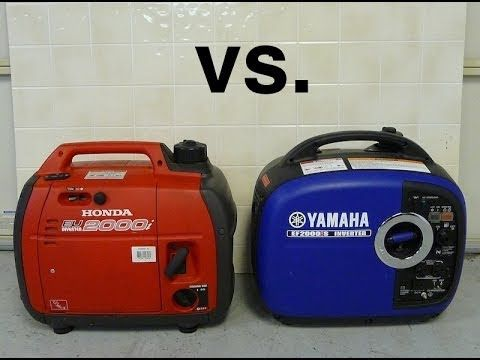 Honda Eu2000i Vs Yamaha Ef2000is Sound Comparison Inverter Generators Owners Manuals Two By Two
