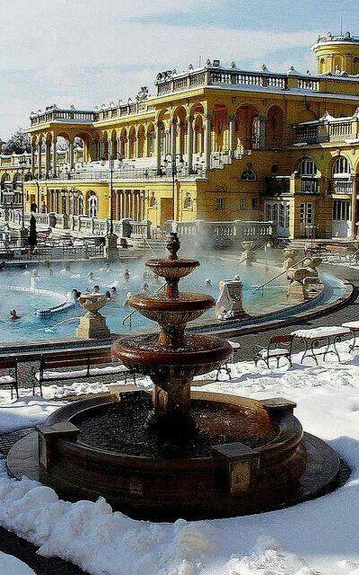 Szechenyi baths, Budapest, Hungary | Eastern Europe | Pinterest ...