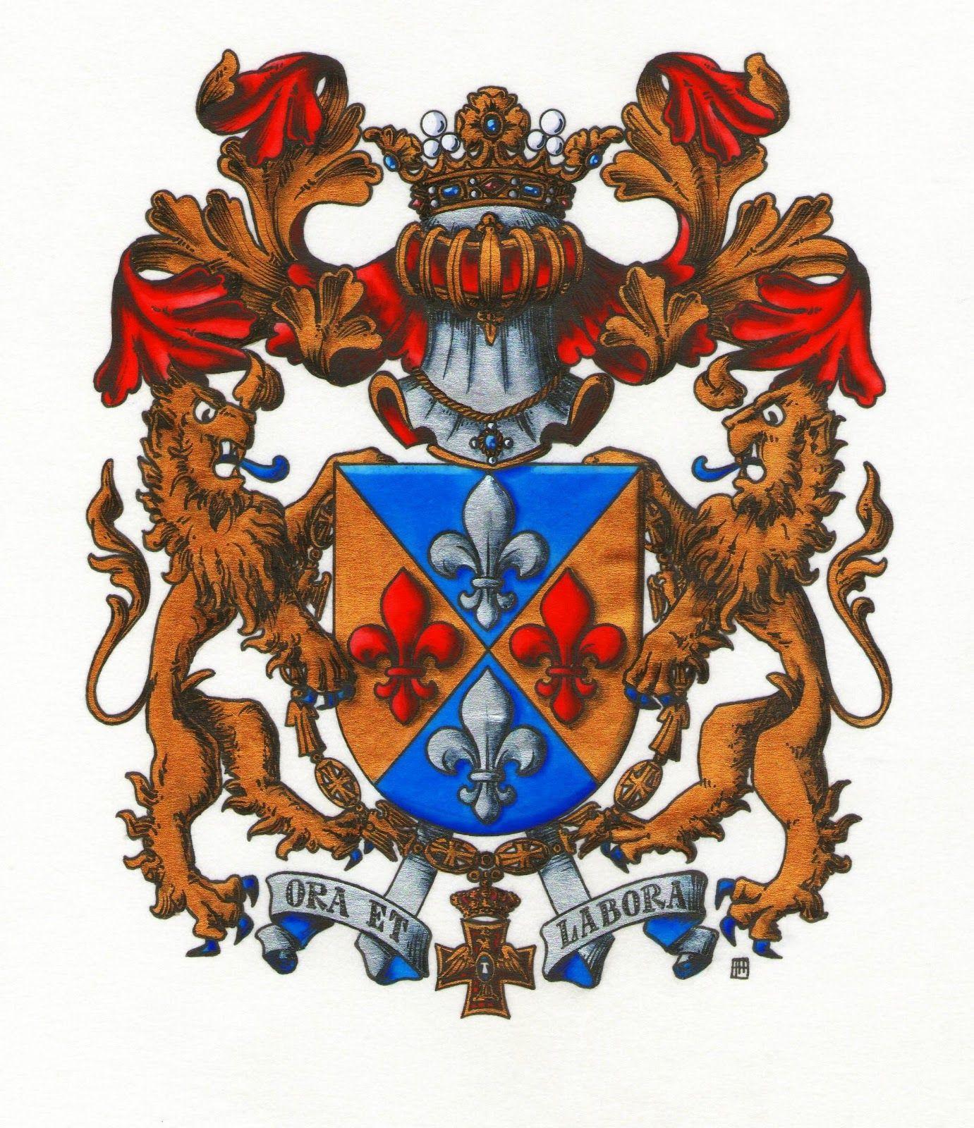 Escudo de D. Rafael Llombart.