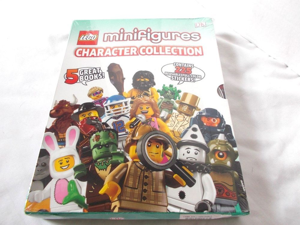Lego Minifigures Character Collection Encyclopedia Series 1-10 4 ...