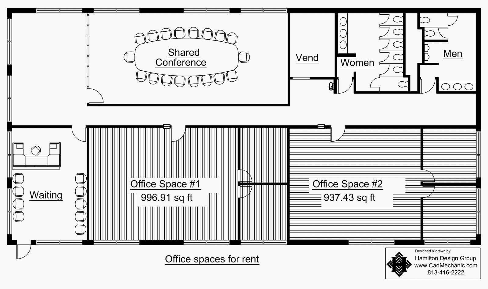 commercial building plans strip mall plans | West Main Floor Plan ...