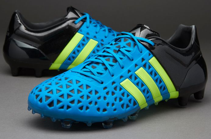 adidas ACE 15.1 FG AG - Azul Amarillo Negro  0f296a75315ad