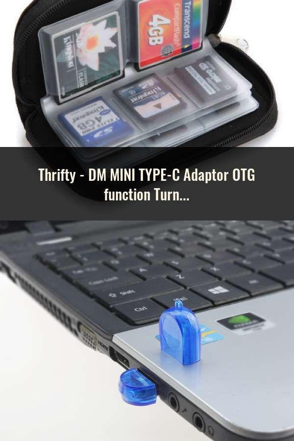 Dm Mini Type C Adaptor Otg Function Turn Normal Usb Into Type C Usb Flash Drive Wifi Extender Otg Wifi Signal
