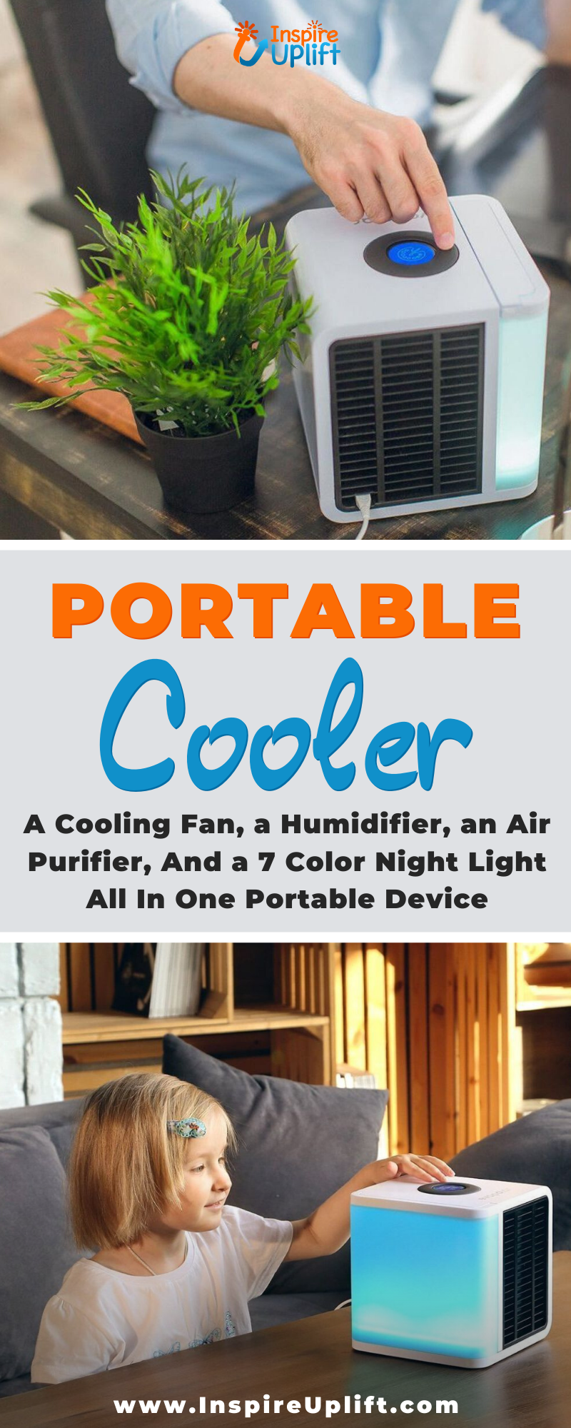 The Icy Portable Cooler combines the functions of a