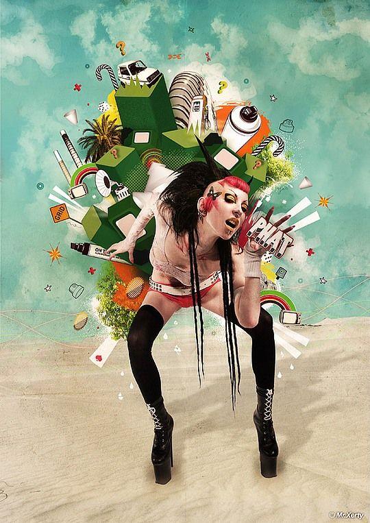 Hot Digital Art by Brice Chaplet