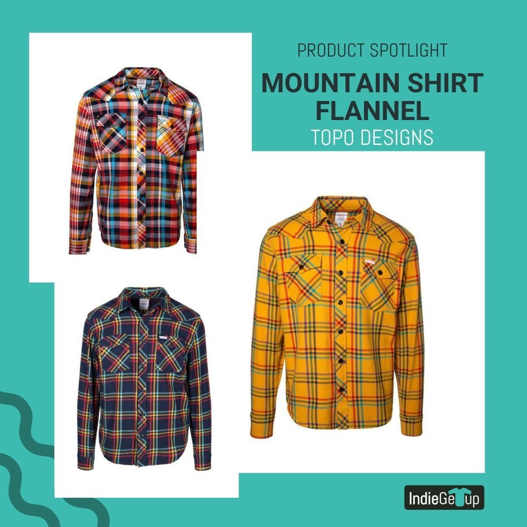 Mountain Shirt Flannel In 2020 Mountain Shirt Topo Designs Flannel