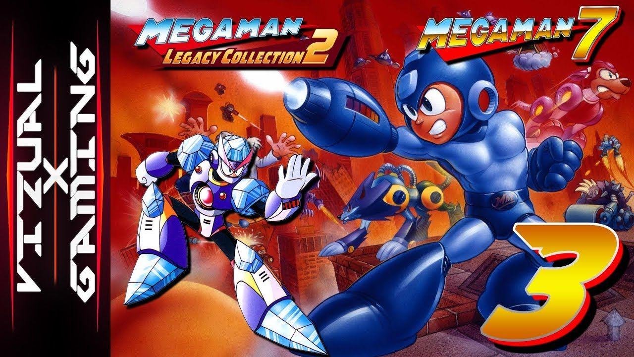 Mega Man Legacy Collection 2 Mega Man 7 3 Slippin And A Slidin Mega Man Legacy Legacy Collection Mega Man