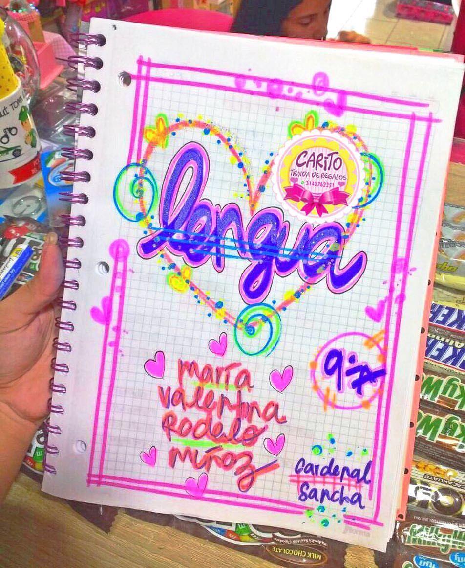 Temporada Escolar 2018 Marcamos Tus Cuadernos Con Muchísimo Amor • Tráelos Con Anticipación ...