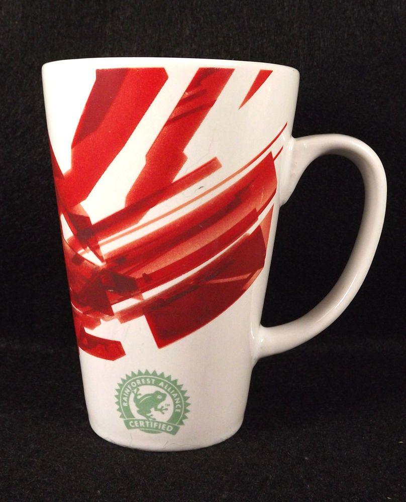Mug McDonalds Red White Rainforest Alliance Ceritified Coffee Tea