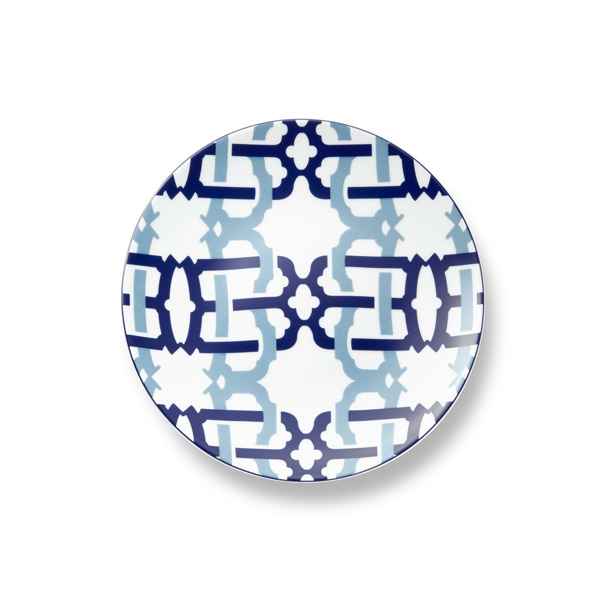 Kennedy Porcelain Salad Plate In Navy With Images Salad Plates