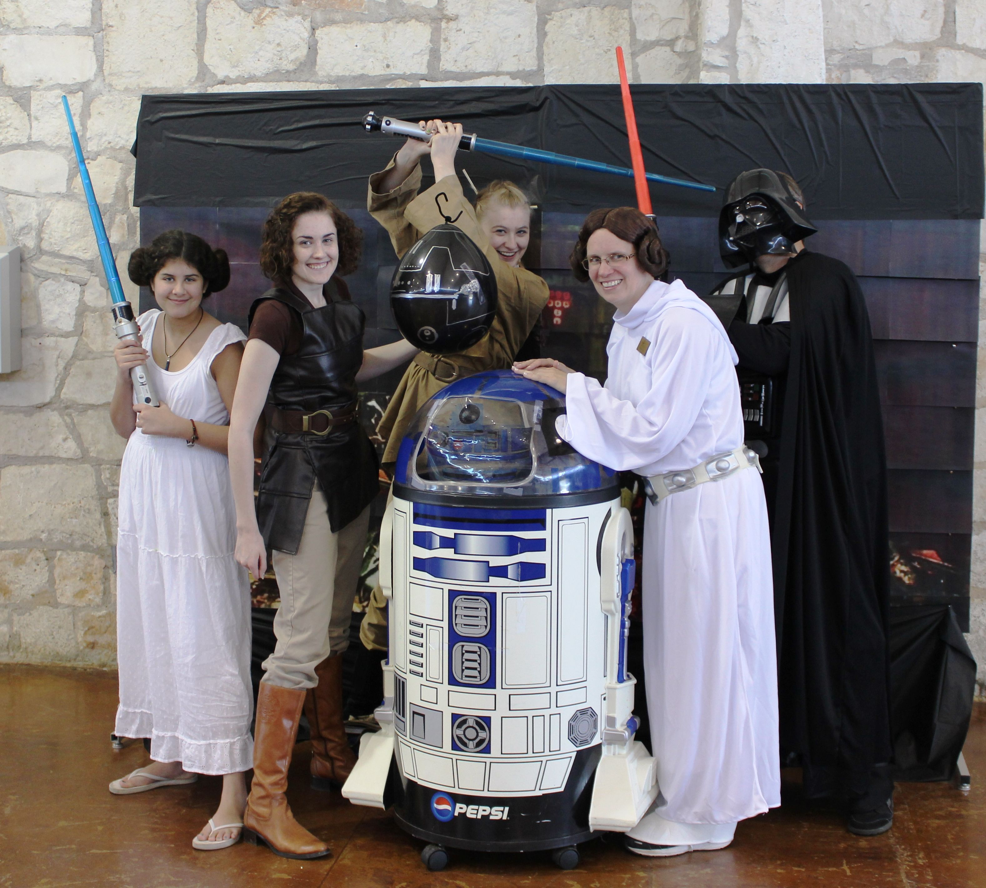 May the FORCE Be With You! From May 4th Star Wars Party