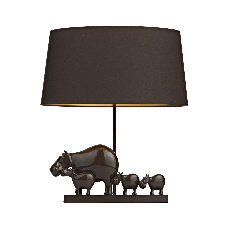 Dar lighting hippo table lamp guests pinterest dar lighting hippo table lamp geotapseo Images