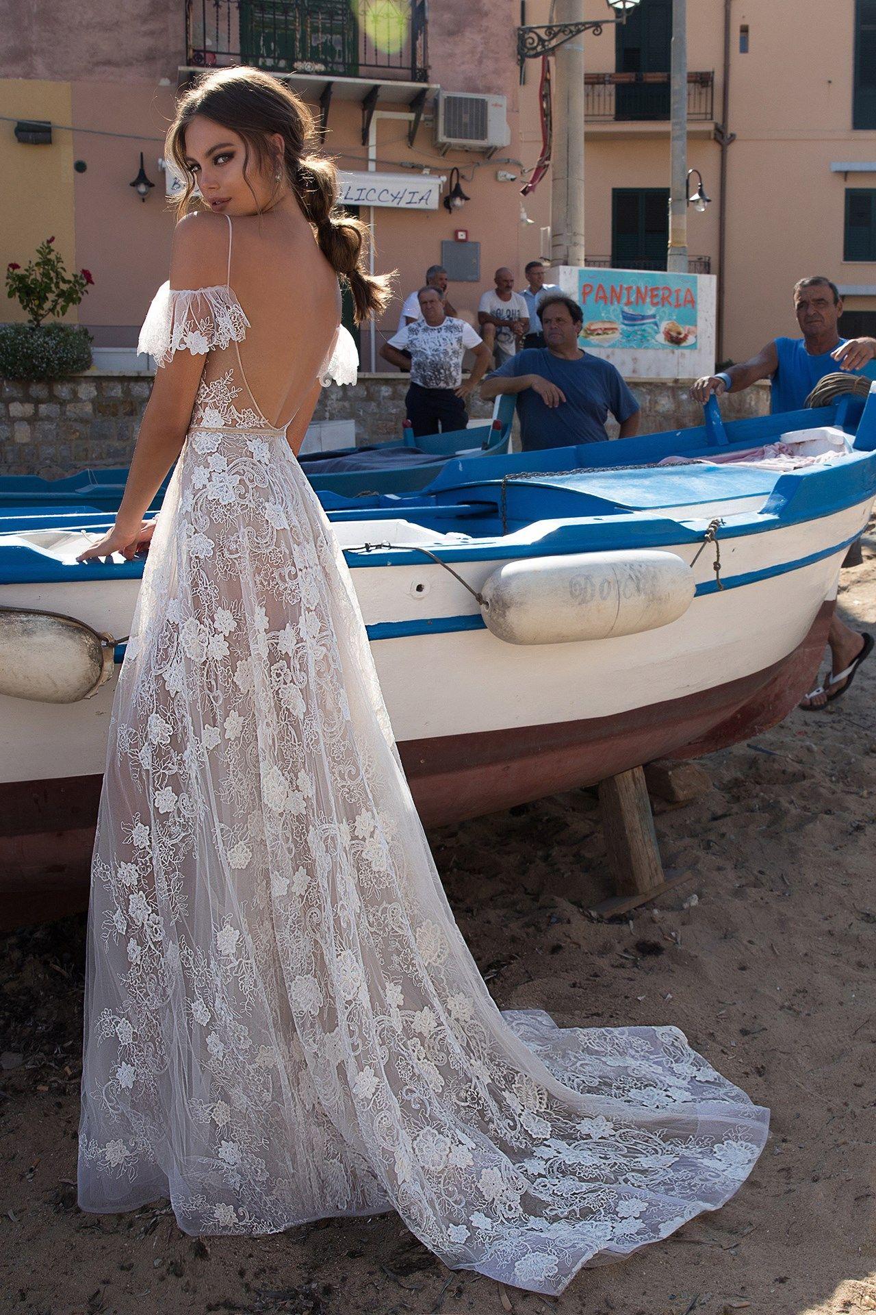 Embroidered Wedding Dresses - Brides Magazine 2018 (BridesMagazine ...